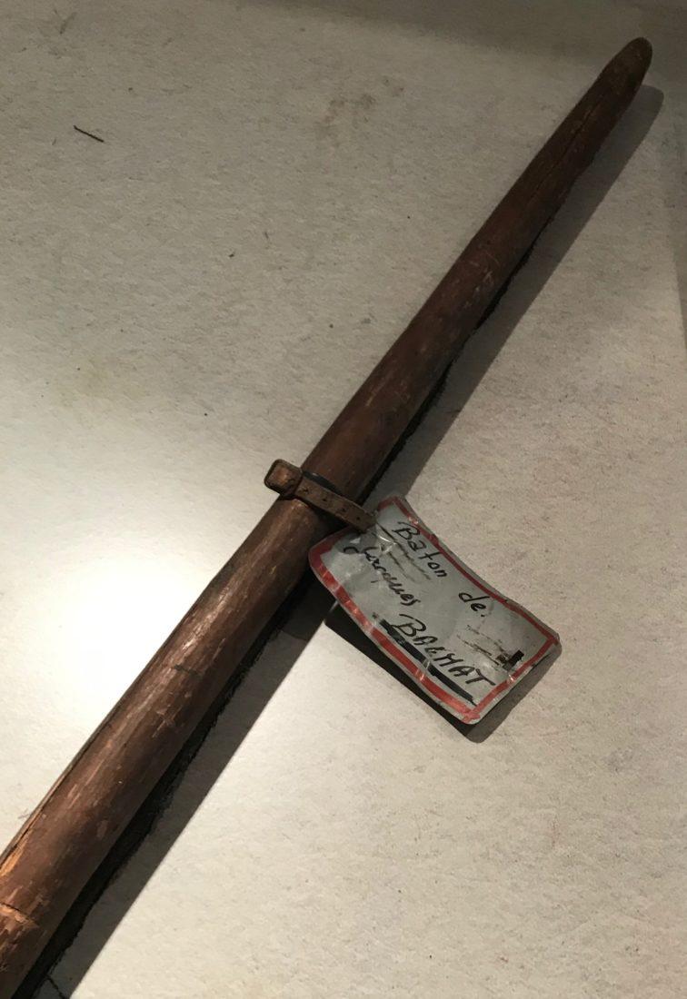 Chamonix étiquette bâton jacques balmat