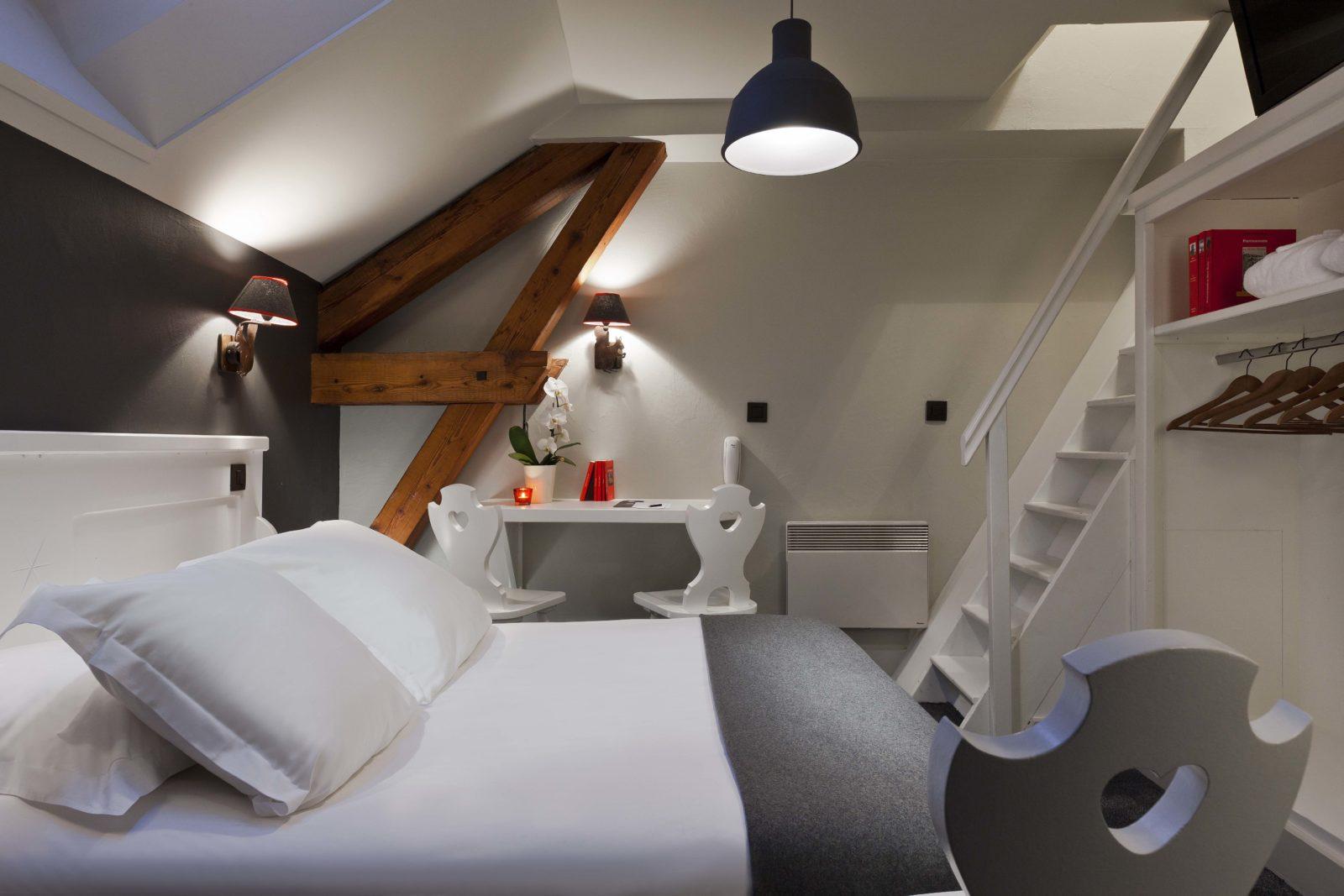 Chamonix Le Faucigny chambre