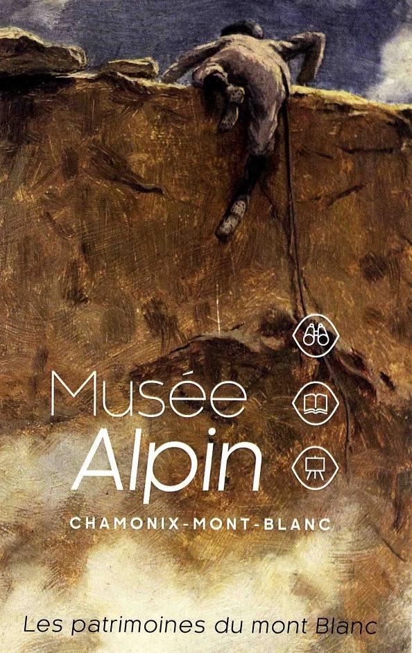 Chamonix affiche musée alpin