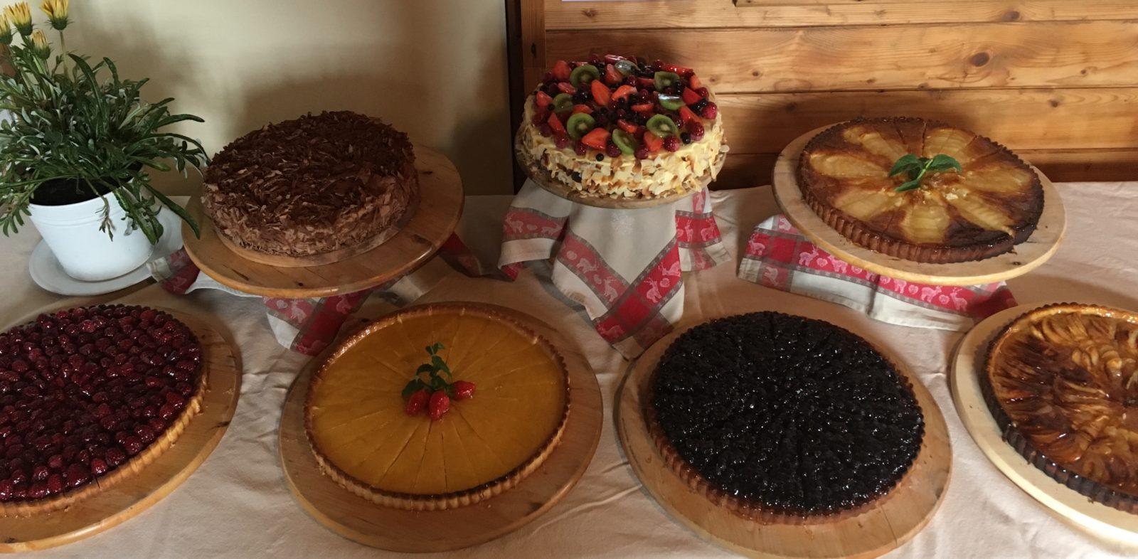 refuge du Plan de l'Aiguille - les tartes de Claude