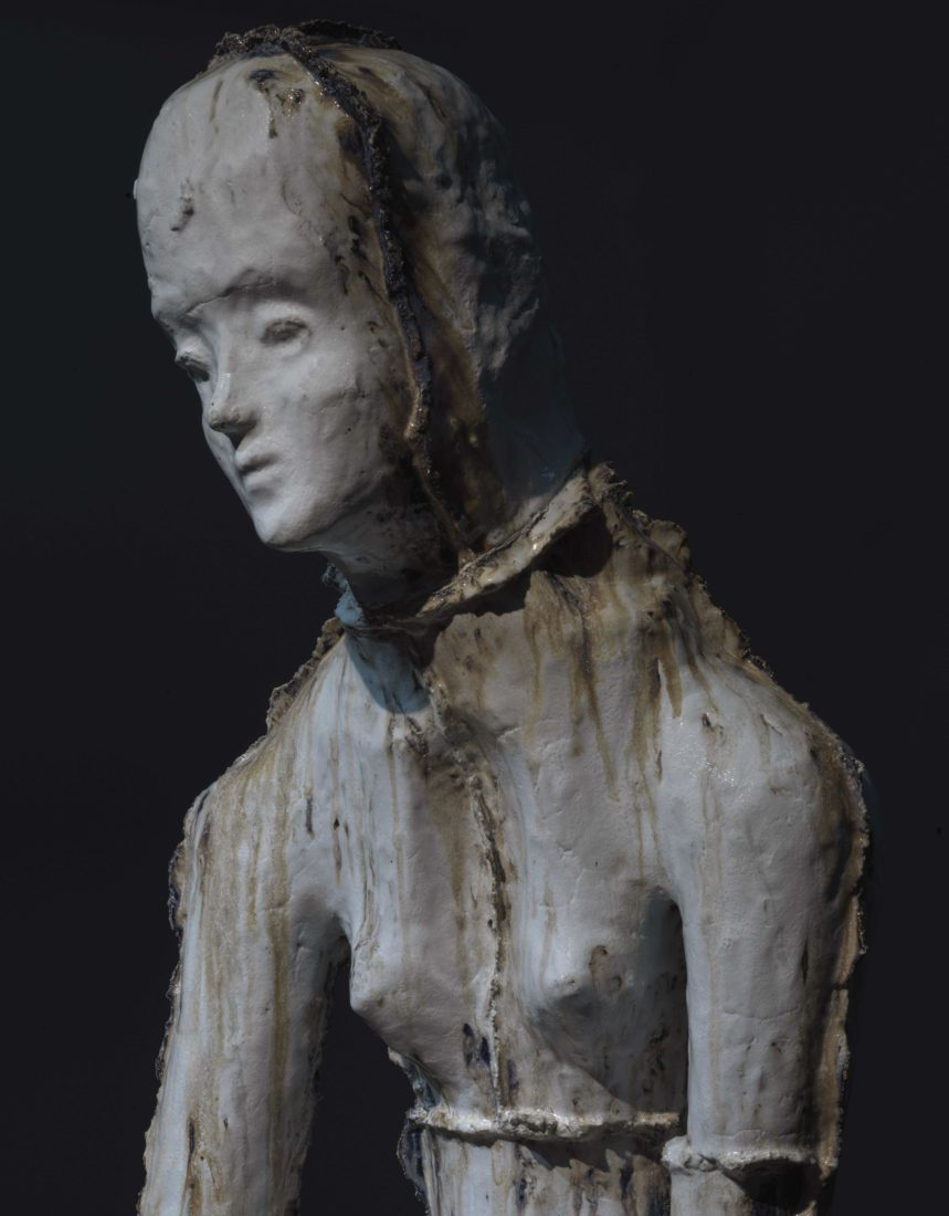 Johan Tahon Refuge/Silence Ariana « Waterfall », 2019