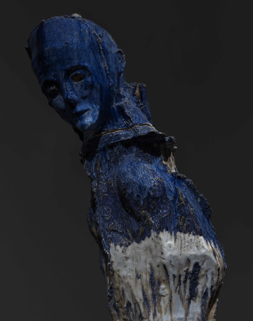 Johan Tahon Refuge/Silence Ariana « Glacier Monk », 2019