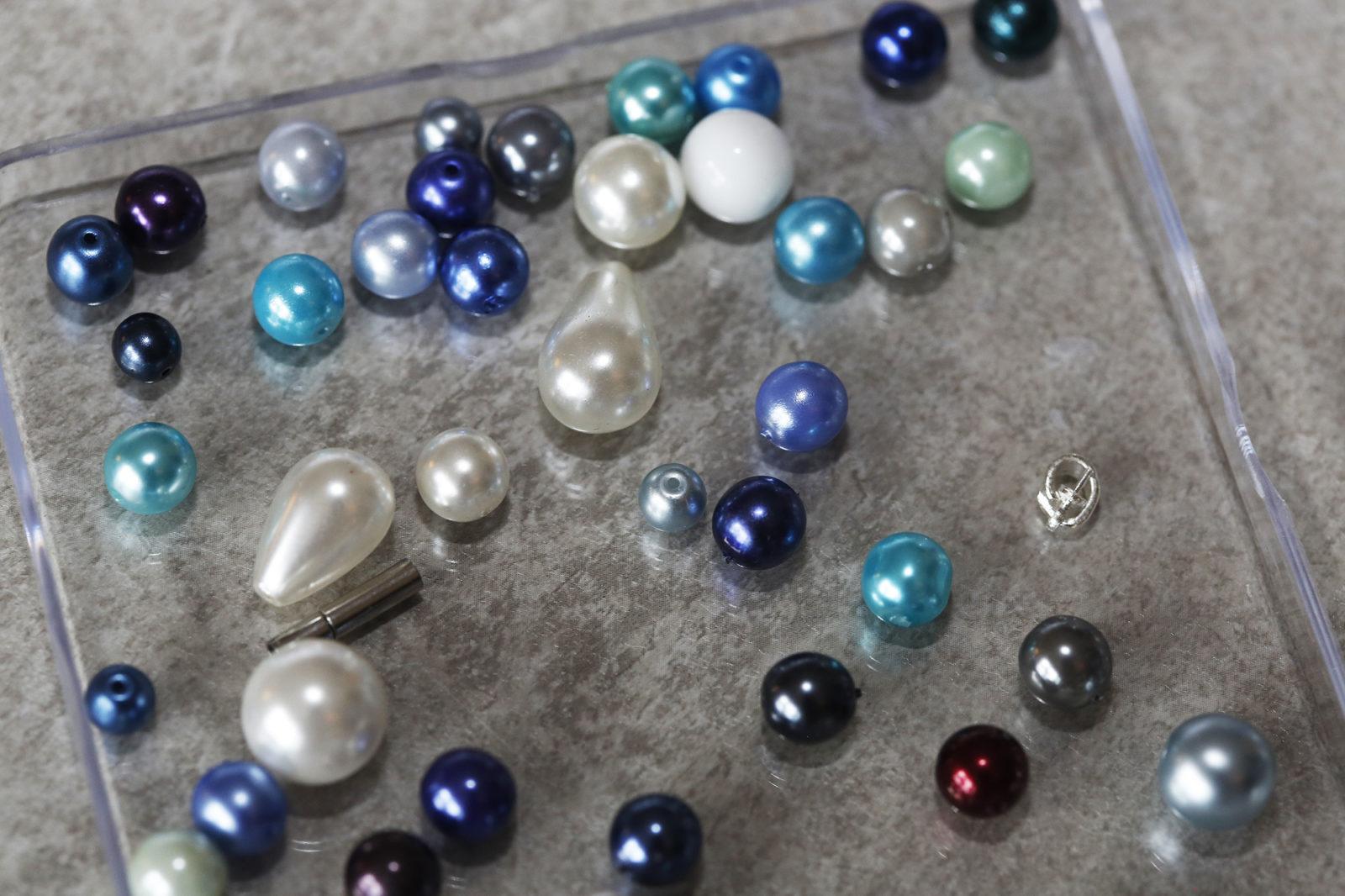 Perles aux couleurs du Léman