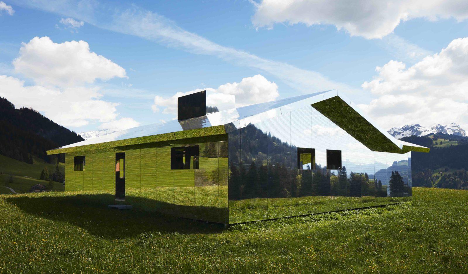 Mirage Gstaad Doug Aitken verdure