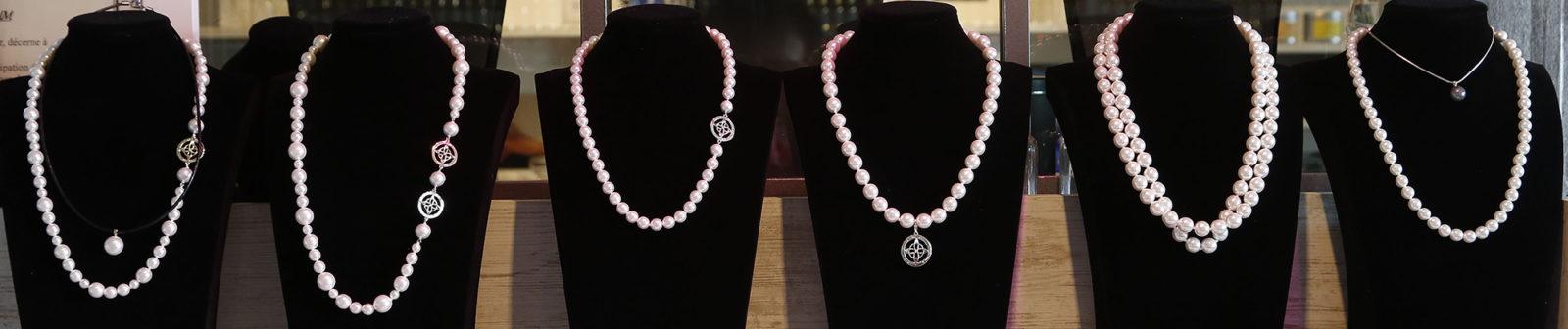 La variété des colliers de perles est infinieJean Loic Selo