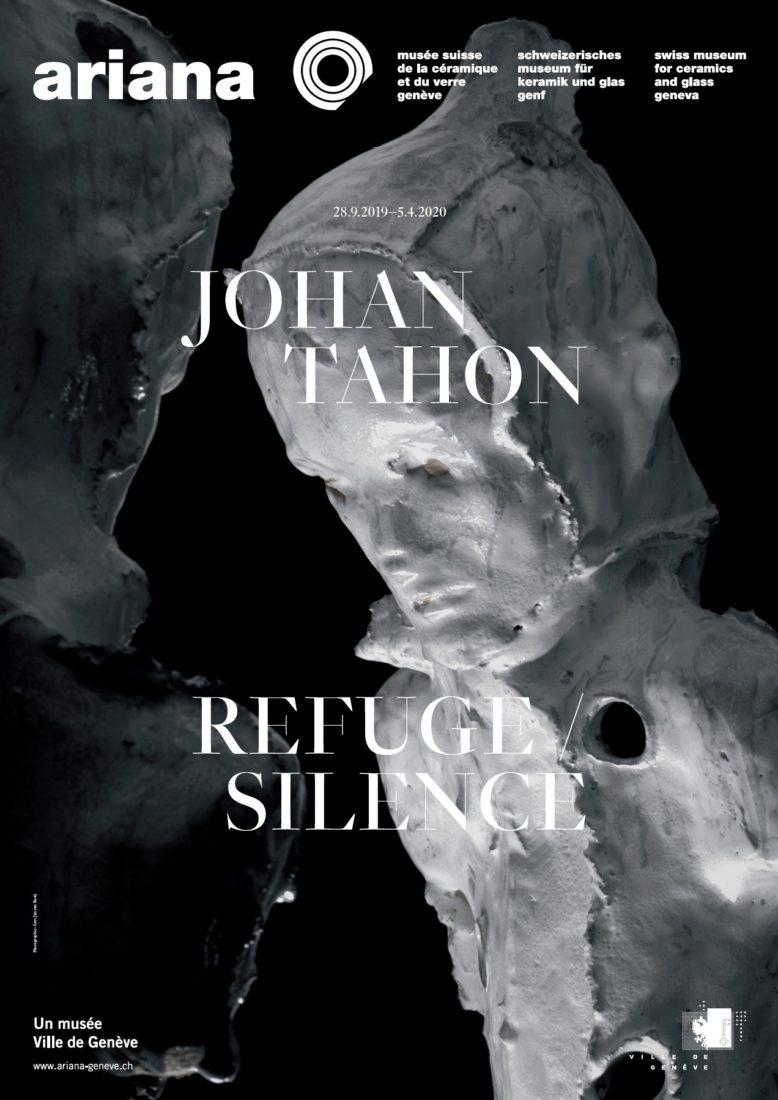Johan Tahon Affiche Refuge/Silence Ariana Geneve