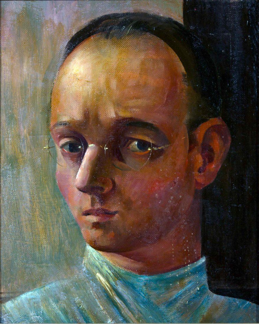Johannes Itten Selbstbildnis, autoportrait
