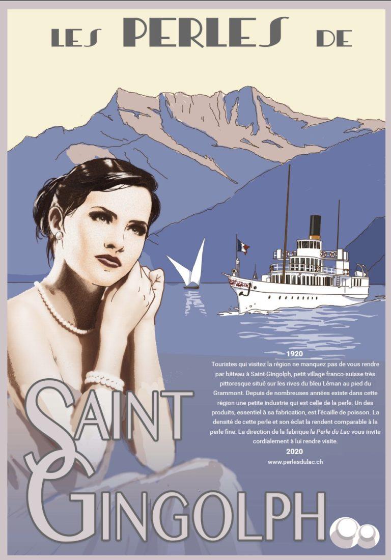 Affiche du magasin (Création Jean-Loïc Selo)