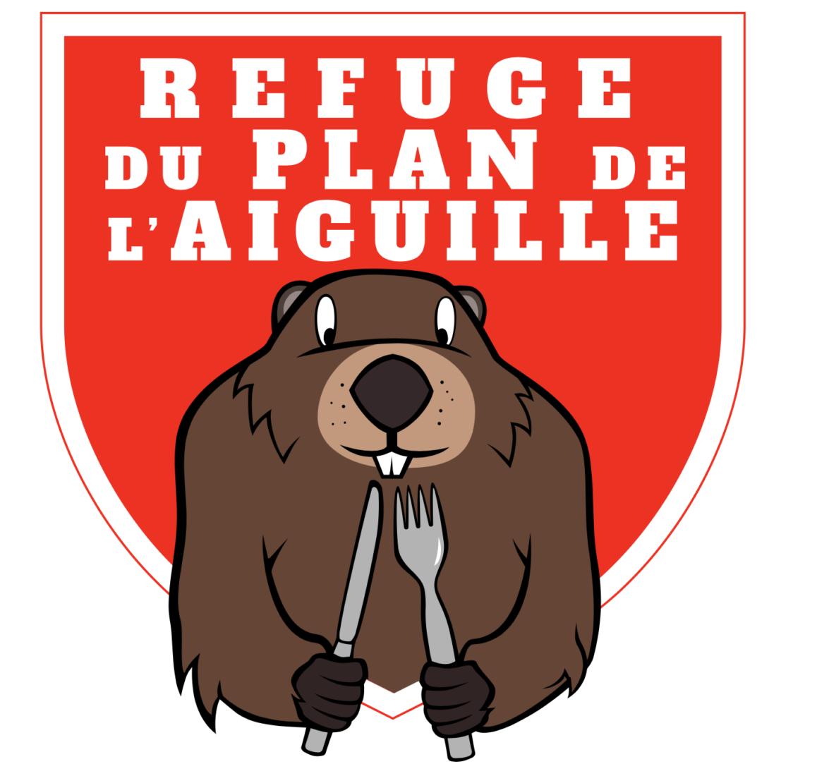 Logo refuge du Plan de l'Aiguille