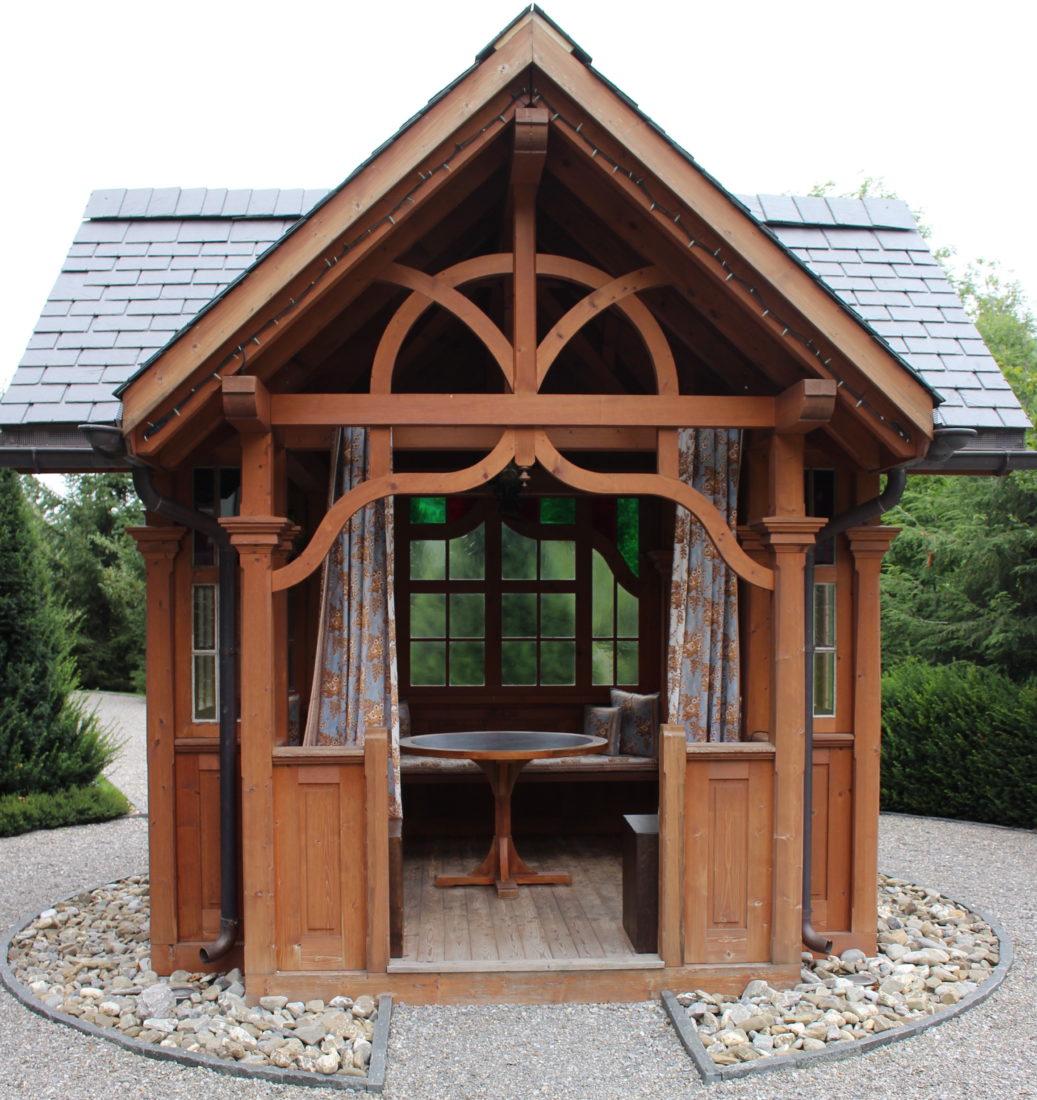 Hôtel Alpina Gstasd maisonnette dans le jardin
