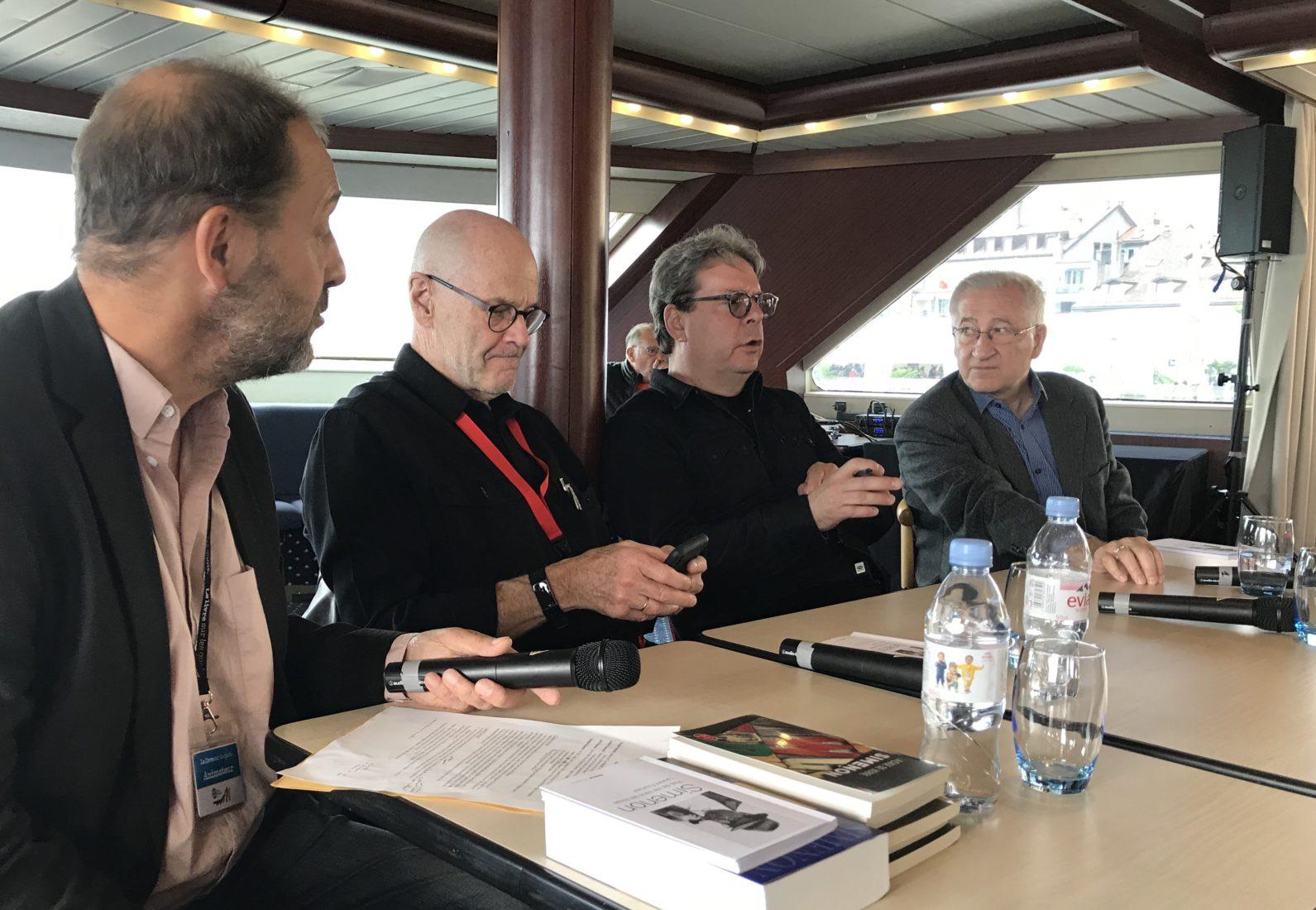 Alain Maillard, John Simenon, Douglas Kennedy, Laurent Fourcaut LSQ 2019