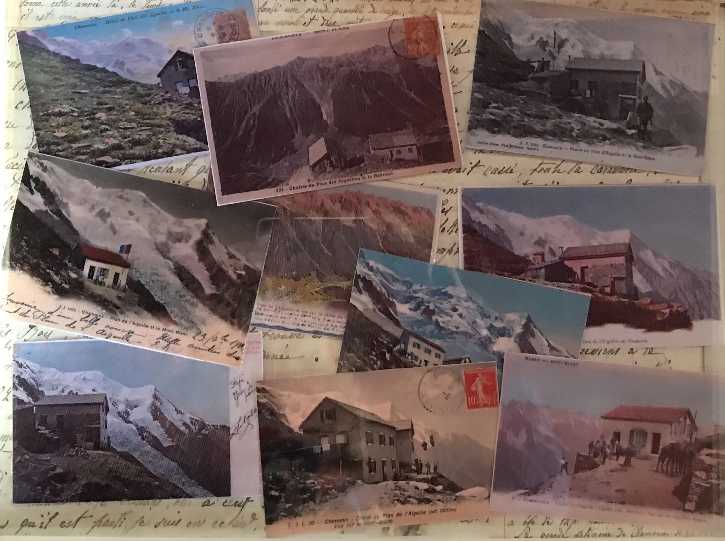 refuge du Plan de l'Aiguille - cartes postales anciennes