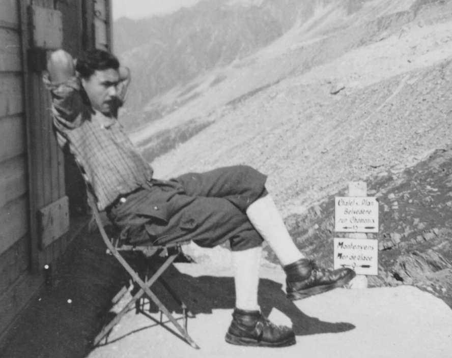 Joseph Claret-Tournier Refuge Plan de l'Aiguille