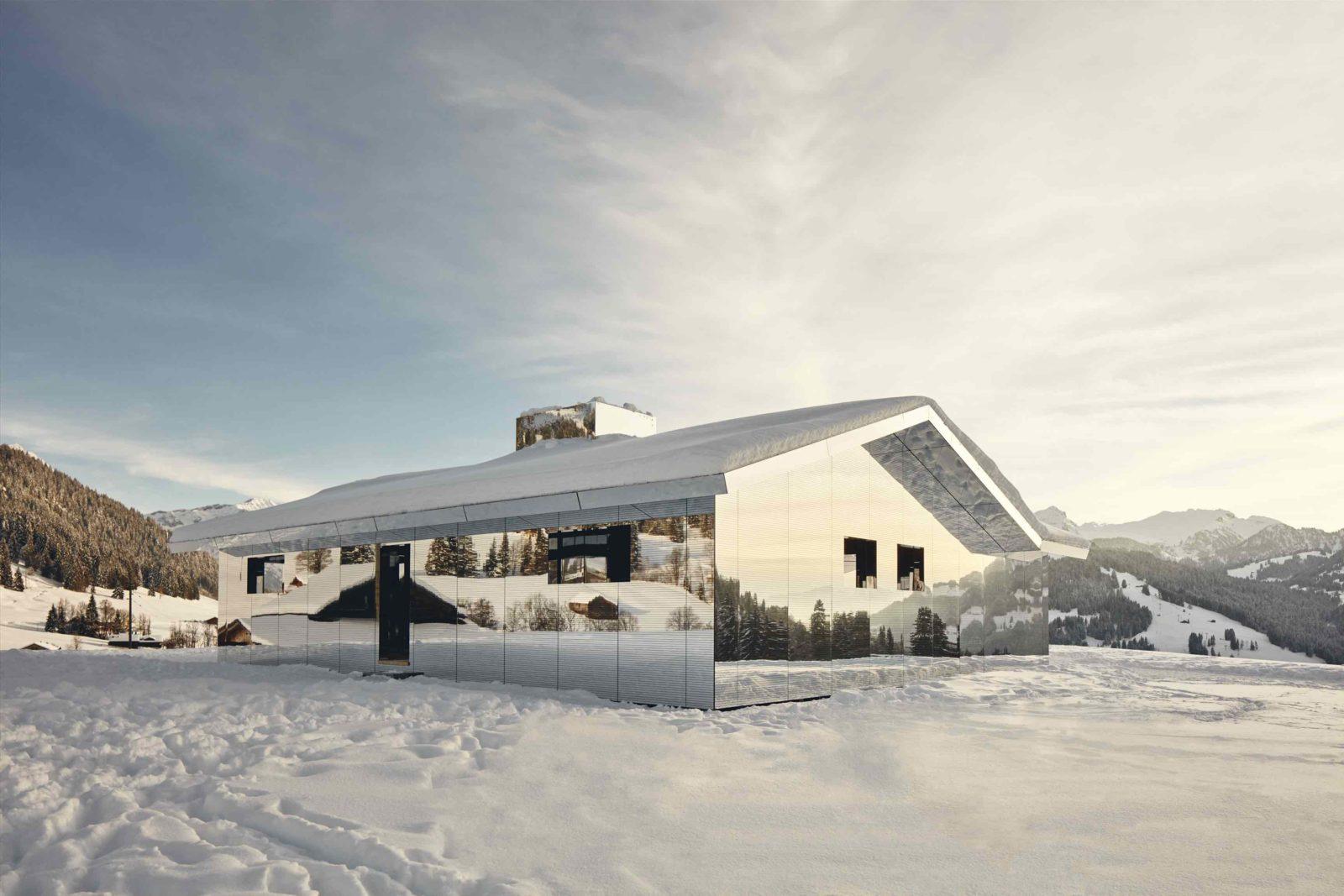 Mirage Gstaad Doug Aitken hiver