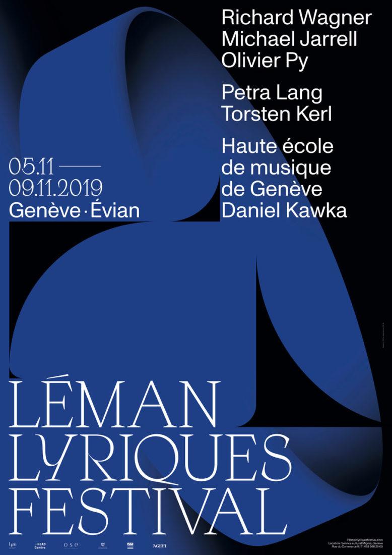 Léman  Lyriques Festival affiche