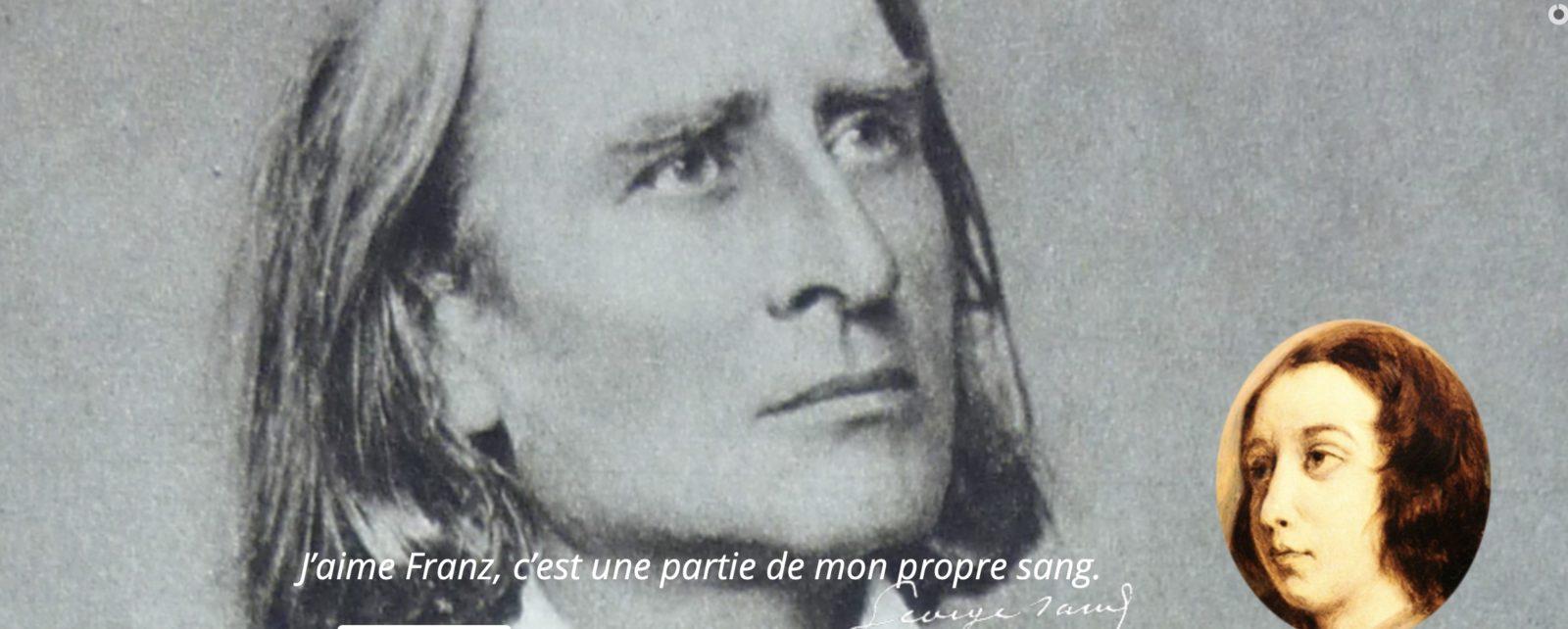 Lisztomanias de Châteauroux 2019 Liszt et George Sand