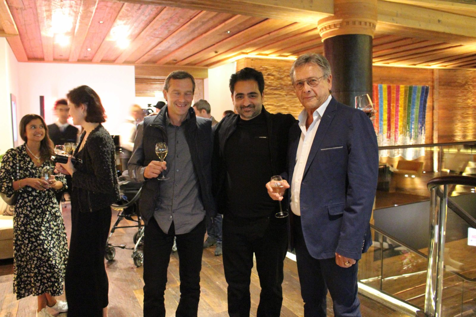 Fadi Joseph Abou,Alain Angenost Alpina Gstaad