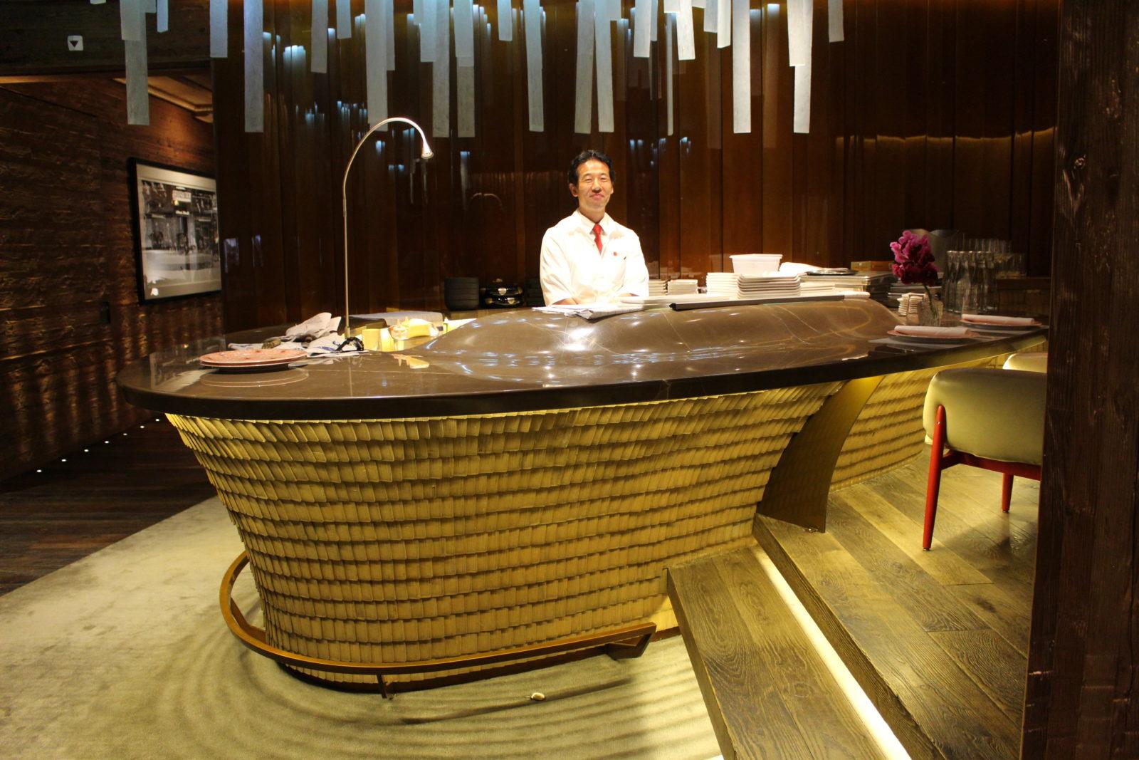 le MEGU restaurant japonais Alpina Gstaad