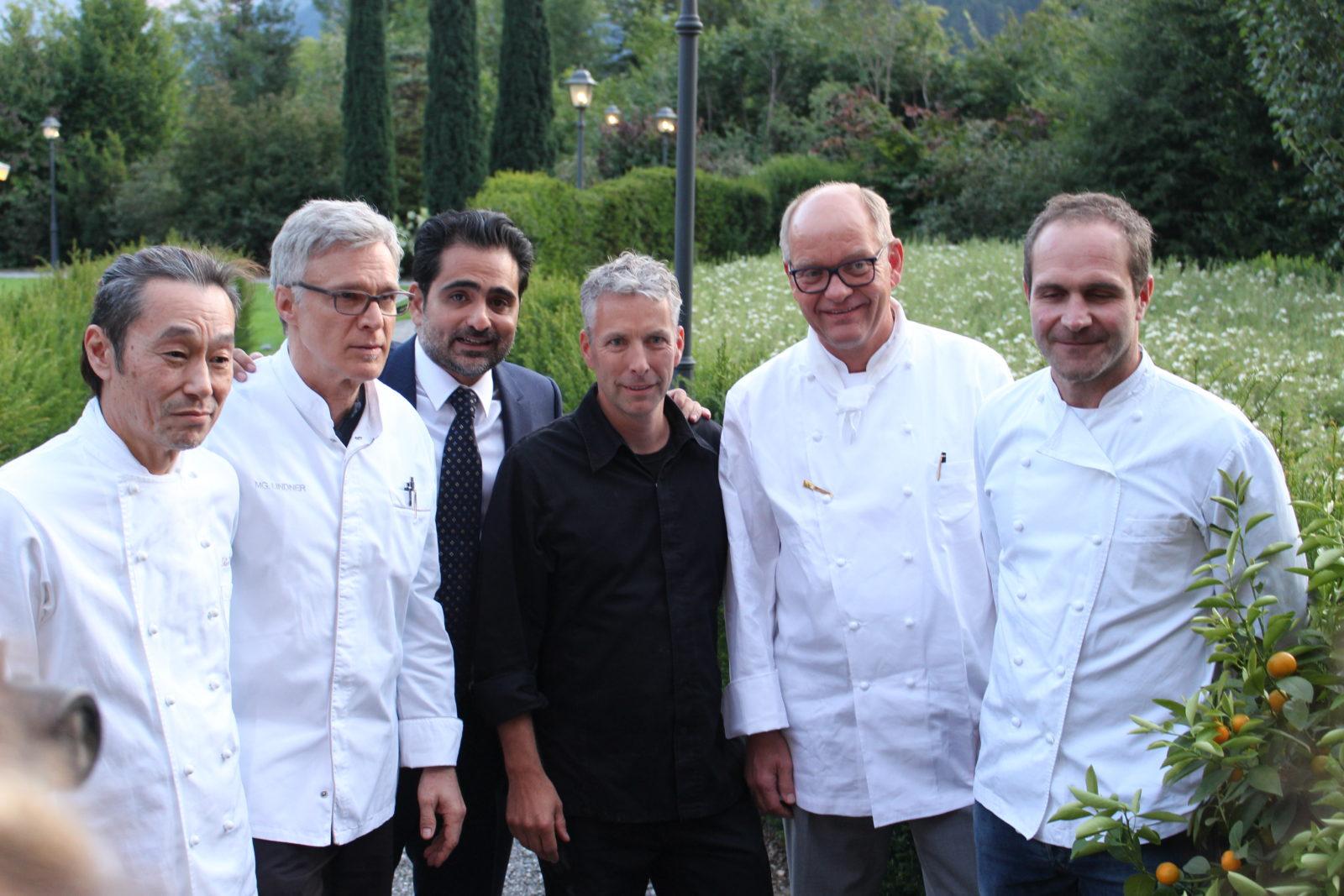 chefs autopur de Martin Goeschel Alpina Gstaad