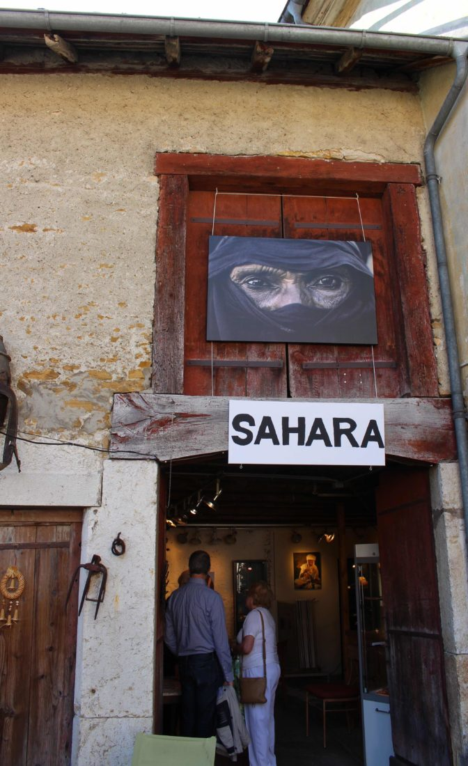Maximilien Bruggmann Exposition Au coeur du Sahara Onnens