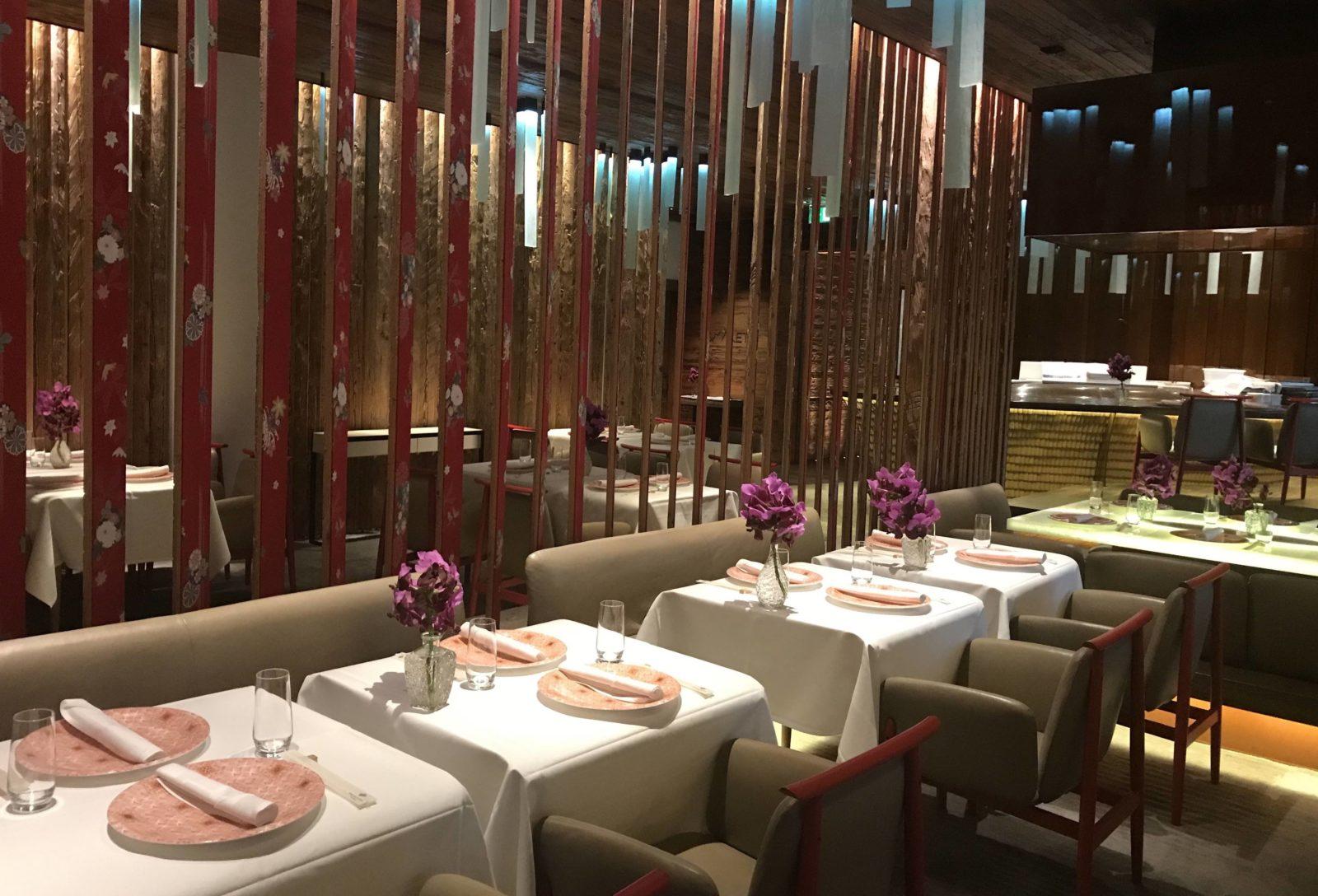 MEGU restaurant japonais Hôtel Alpina gstaad