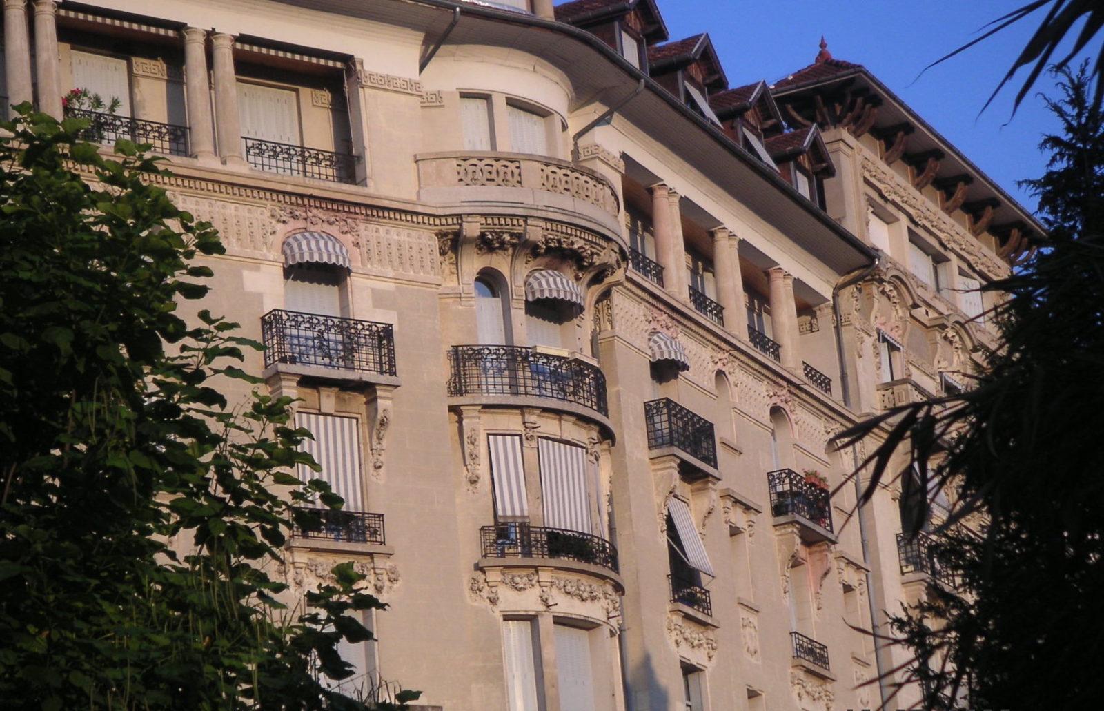 AIx-les-Bains, Hôtel Mirabeau actuellement