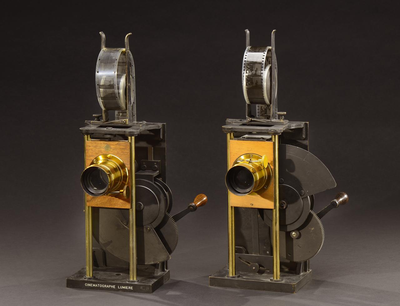 Cinématographe Spécial projection modèles A et B 1897