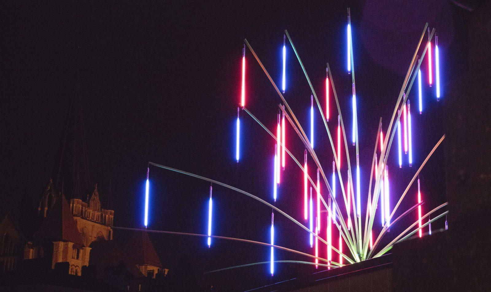 Festival Lausanne lumières 2019 Lausanne ECHINODERMUS