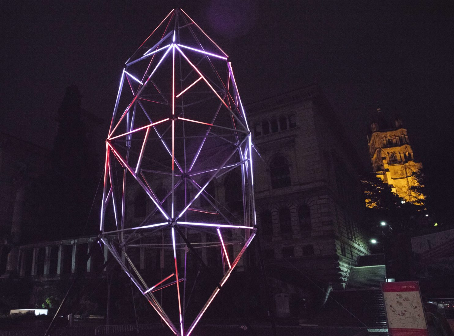 Festival Lausanne Lumières2019 Quartz Riponne