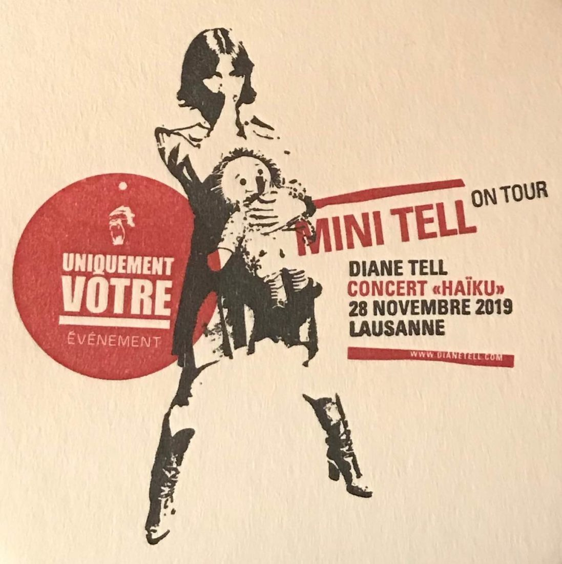 Diane Tell Lausanne Mini Tell