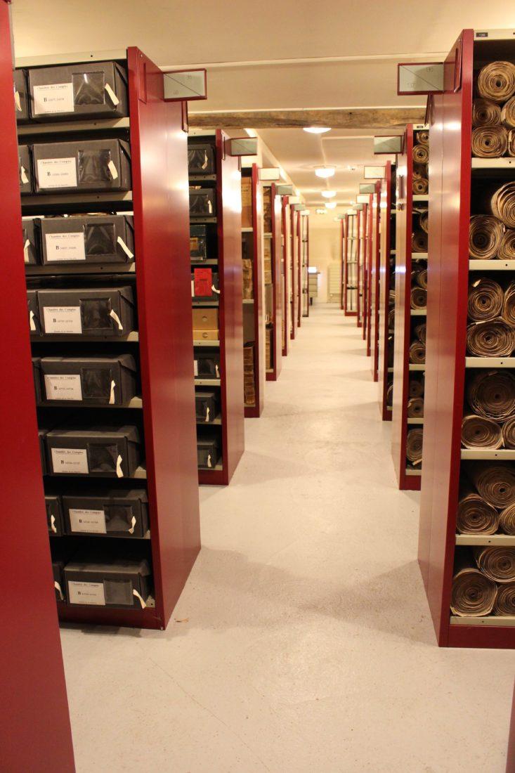 Archives départementales Côte-d'Or Compactus