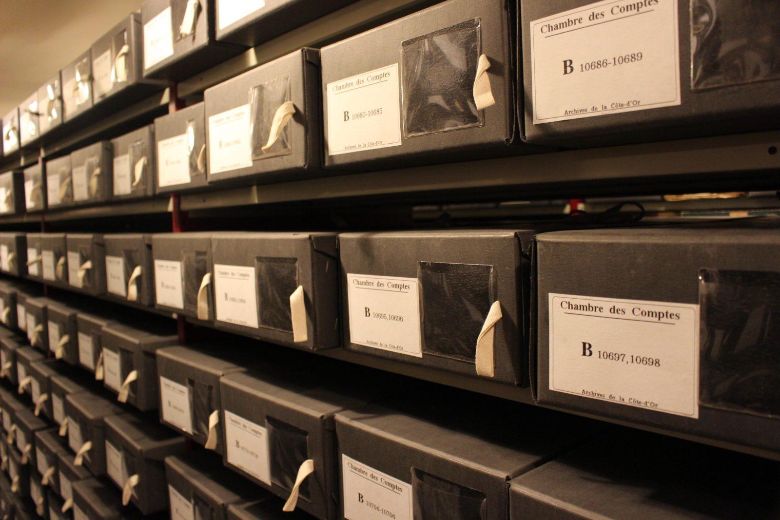 Archives départementales Côte-d'Or chambre des comptes