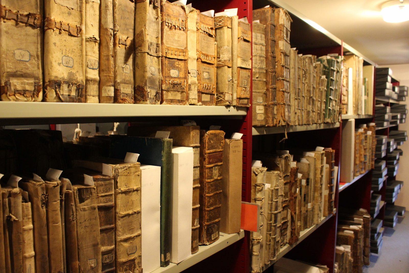 Archives départementales Côte-d'Or livres anciens