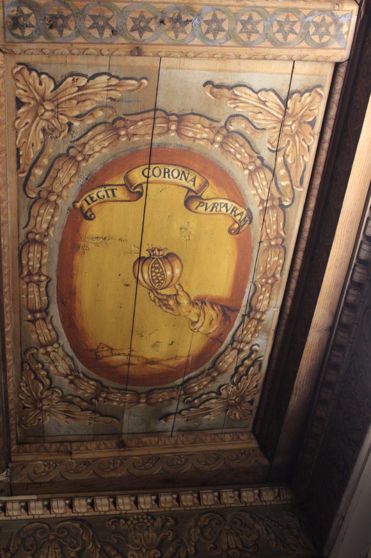 Archives municipales de Dijon plafond Bibliothèque