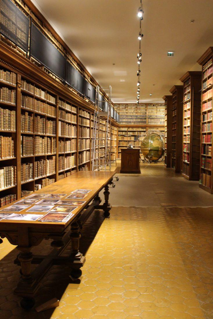 Archives municipales de Dijon salle du globe