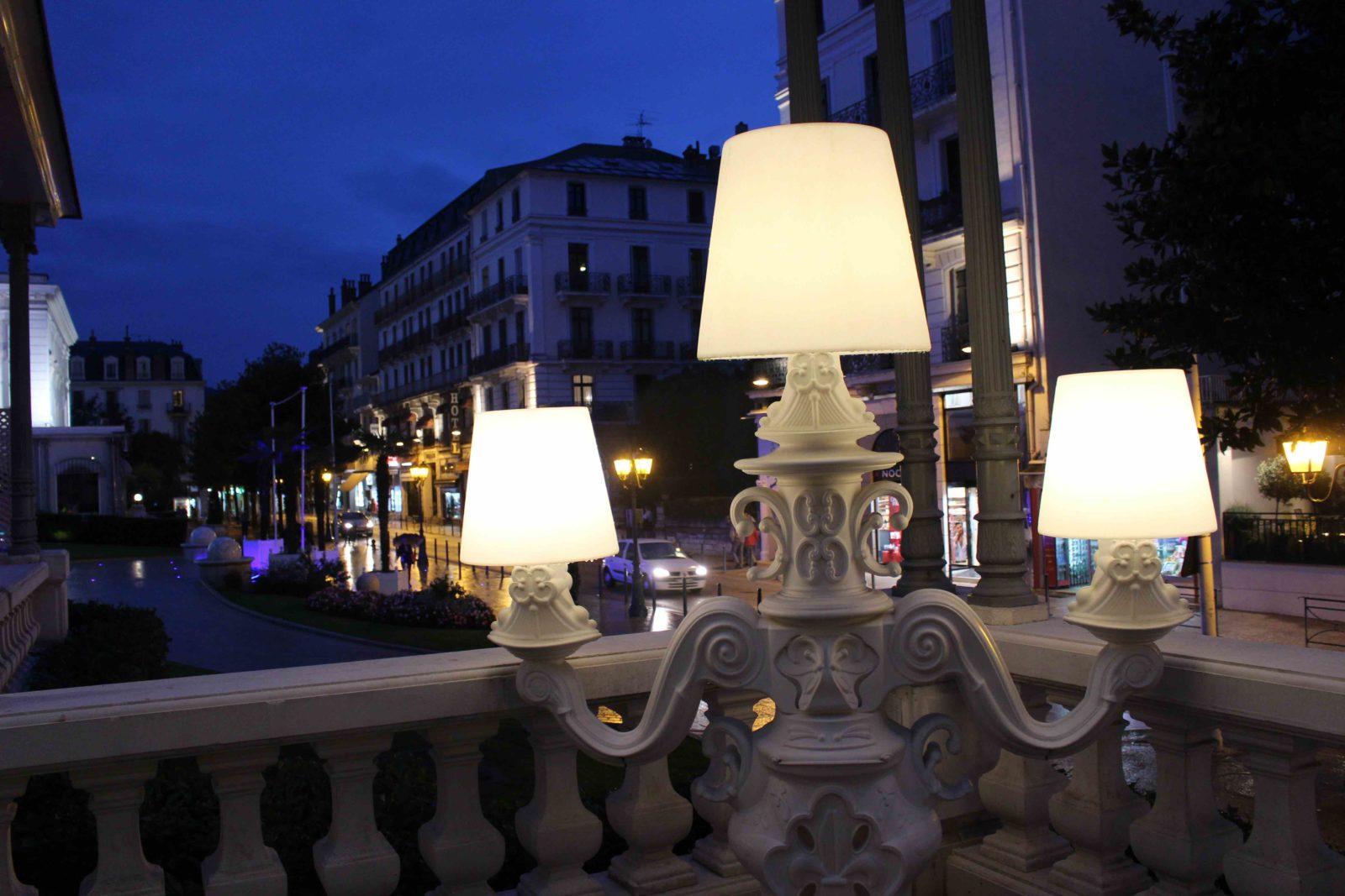 Aix-les-Bains Brasserie du Casino de nuit
