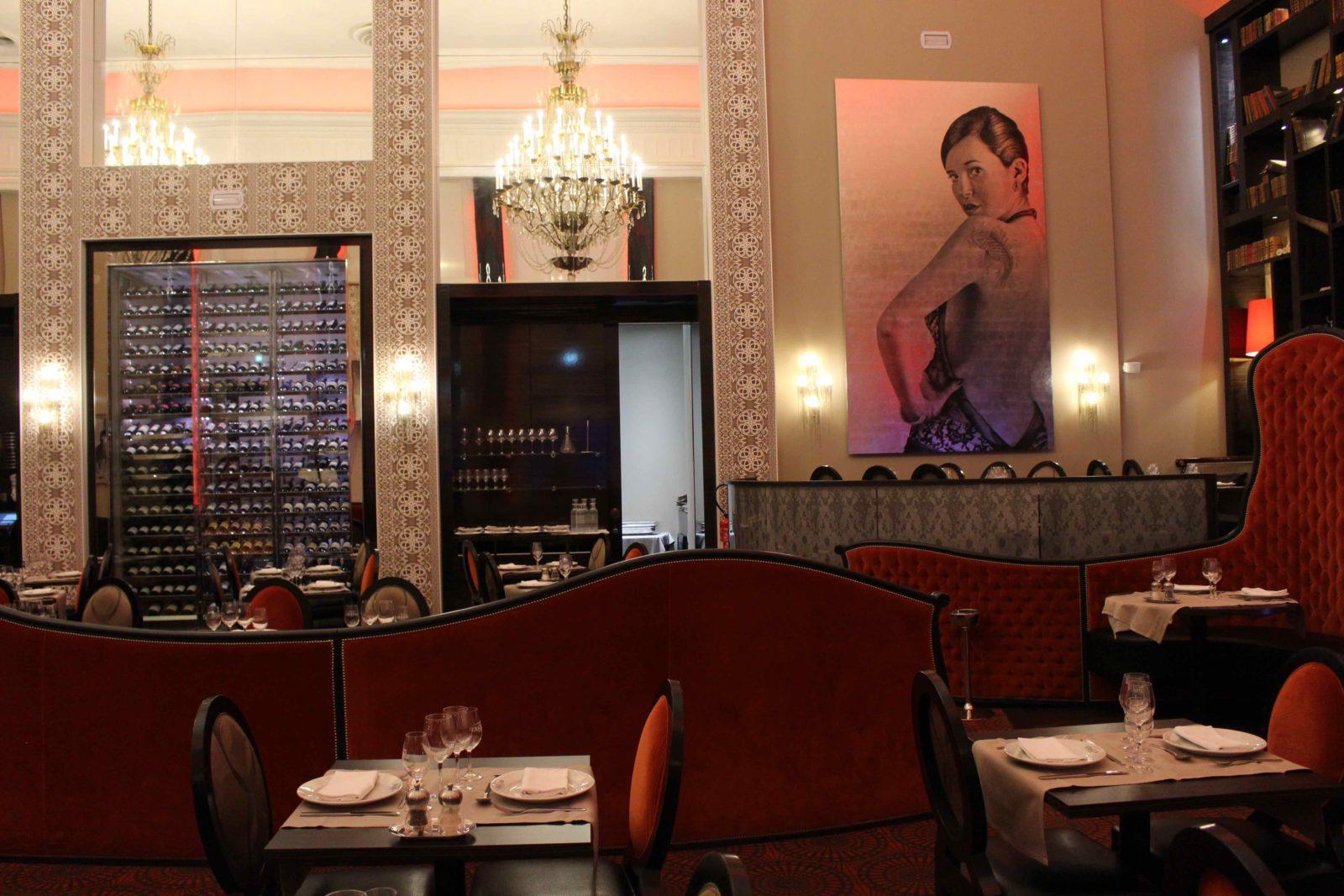Aix-les-Bains Brasserie du Casino décor