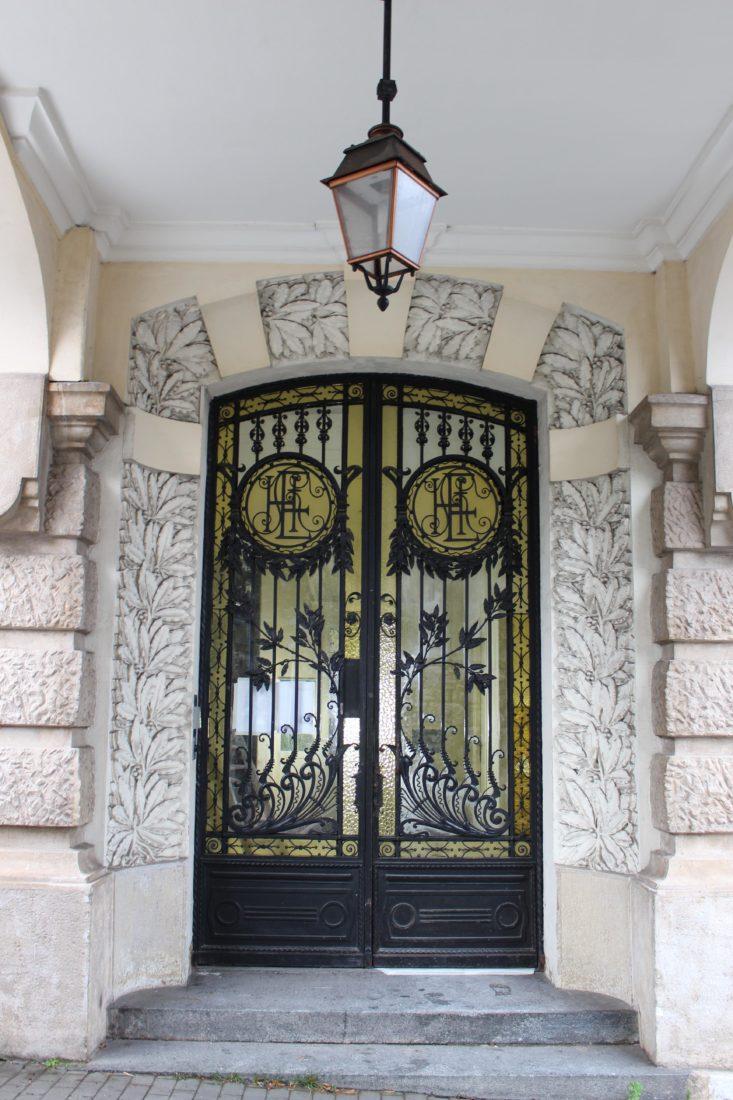 Aix-les-Bains, entrée de l'Excelsior
