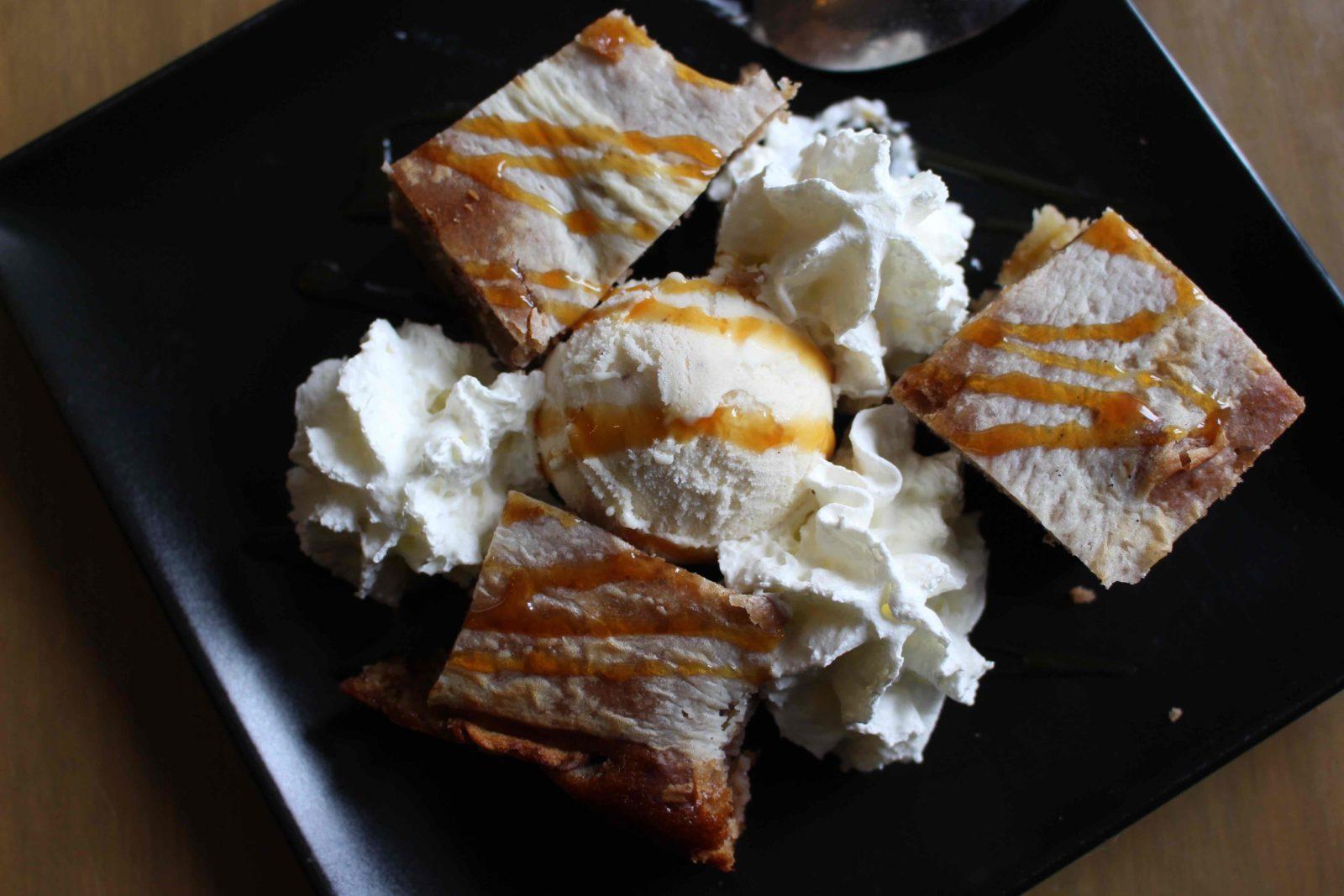 Chanaz Le Relais gourmand le gâteau tout moche