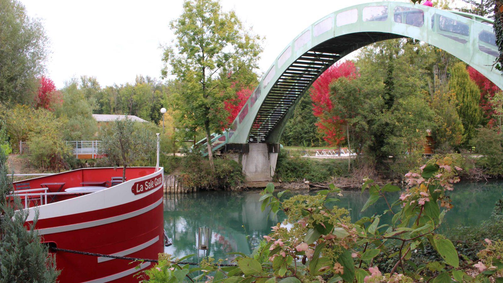 Chanaz, canal de Savières