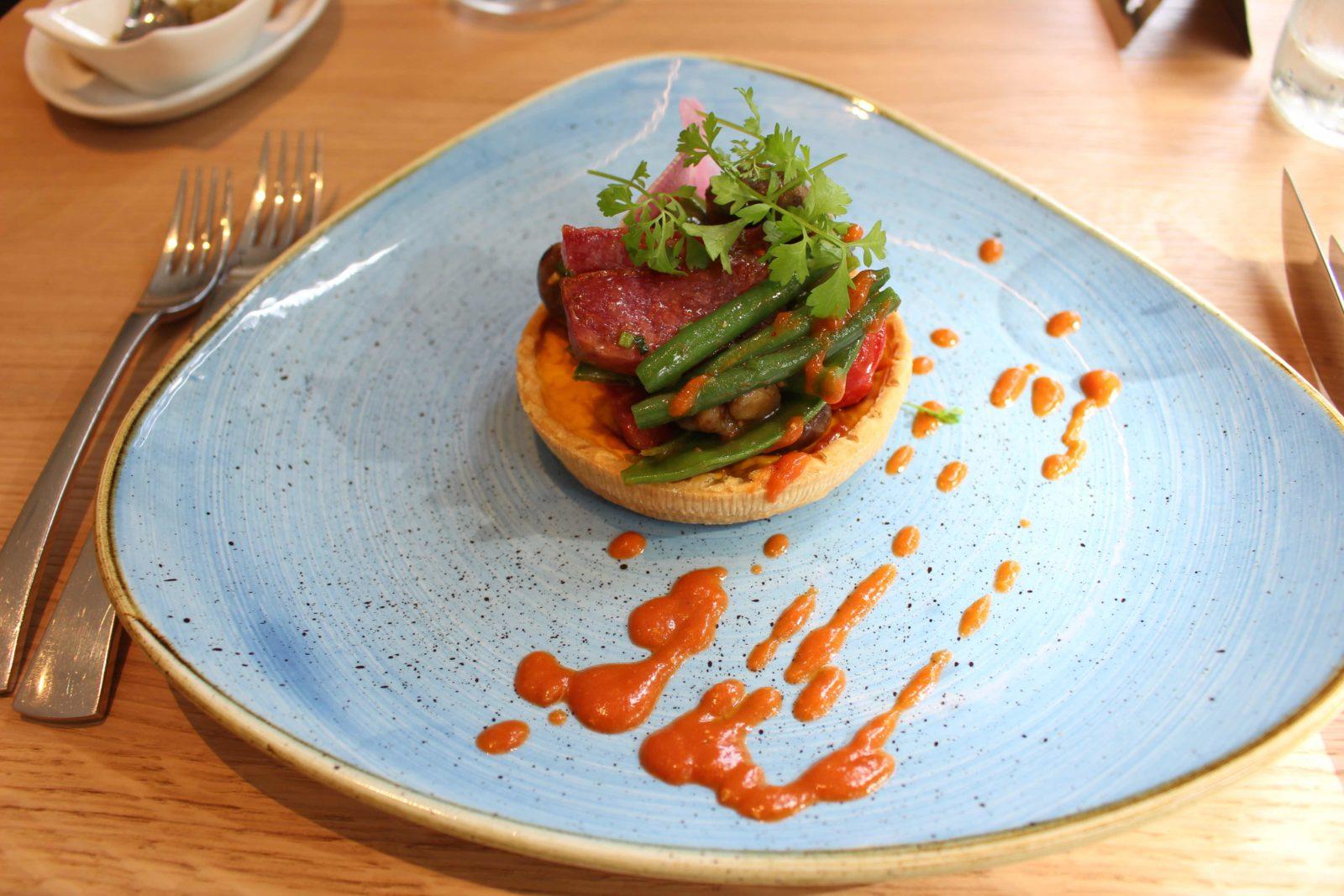 Aix-les-Bains le restaurant l'Alchimisteplat viande