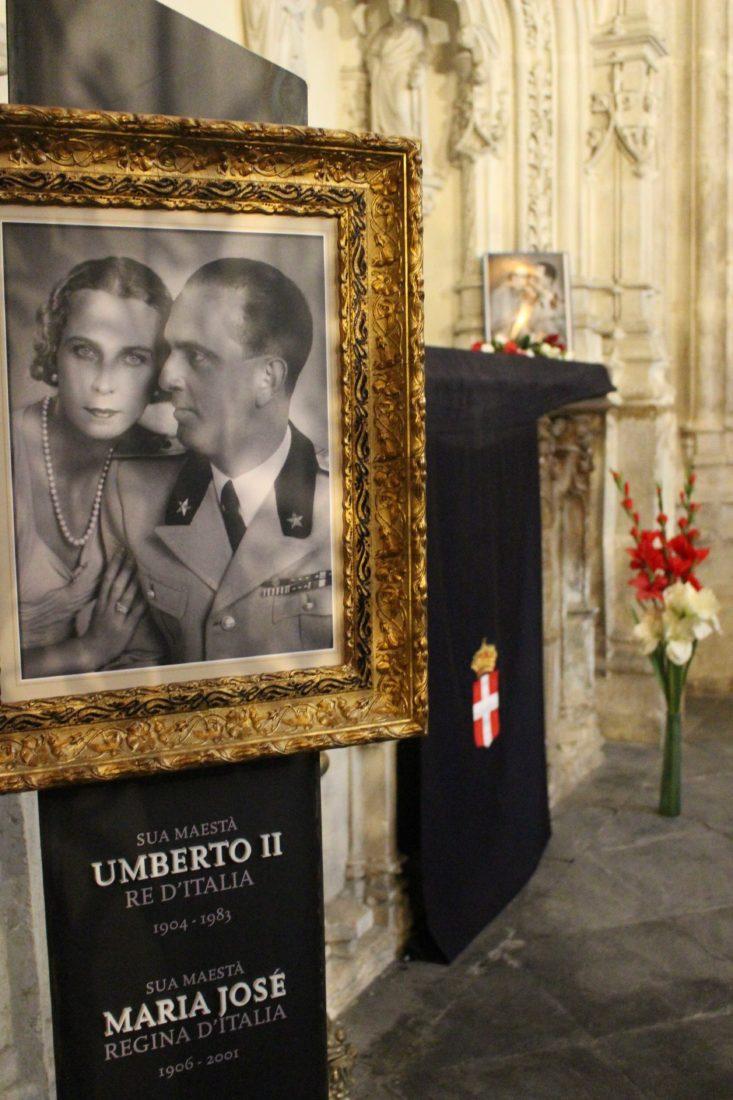 Abbaye d'Hautecombe tombes Umberto II et Marie José