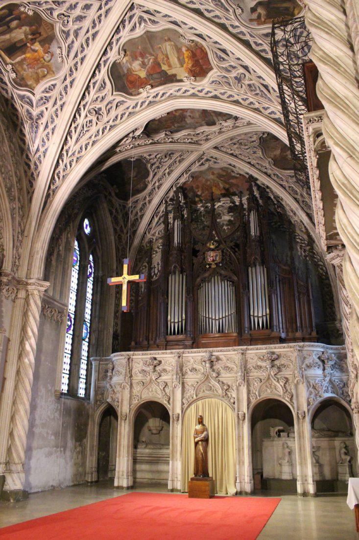 Abbaye d'Hautecombe intérieur - orgue