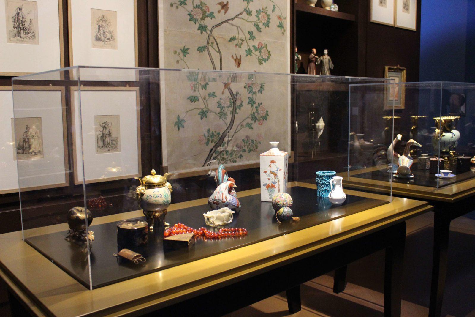 Exposition François Boucher Besançon Objets chinois