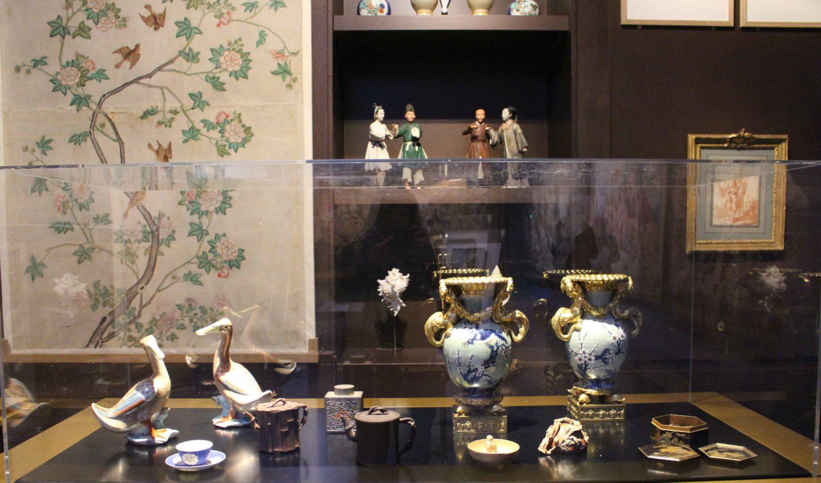 Exposition François Boucher Besançon Vases et objets chinois