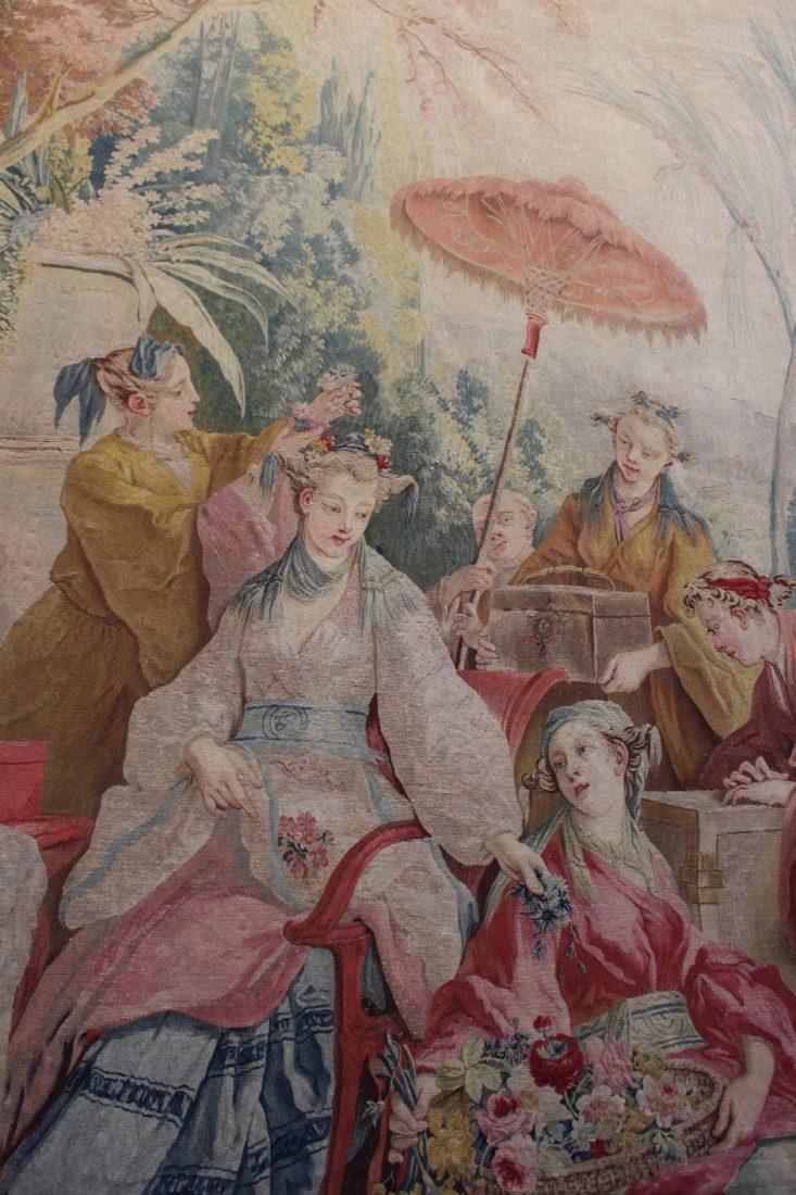 tapisserie La danse chinoise - détail