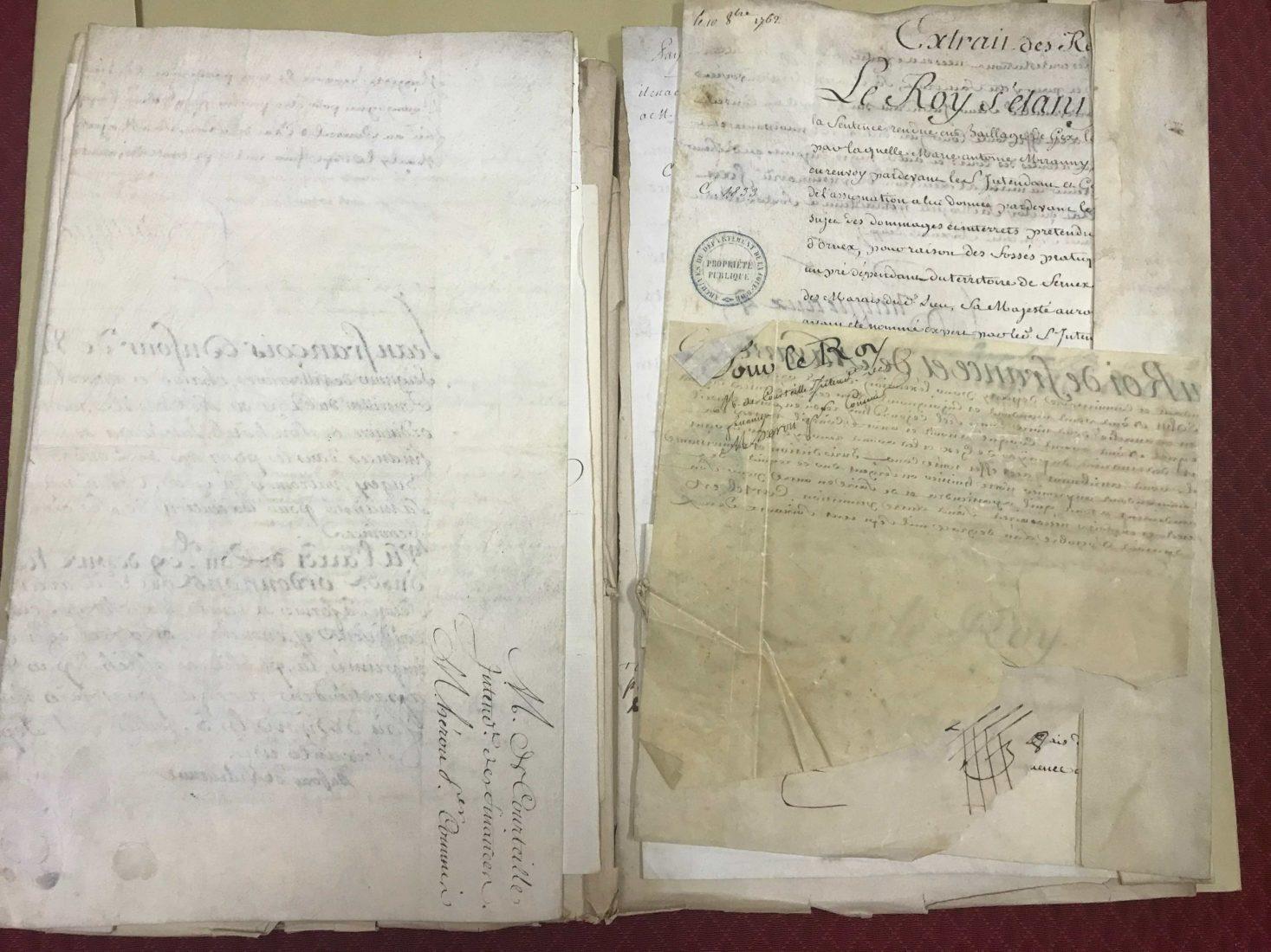 Archives départementales Côte-d'Or lettres
