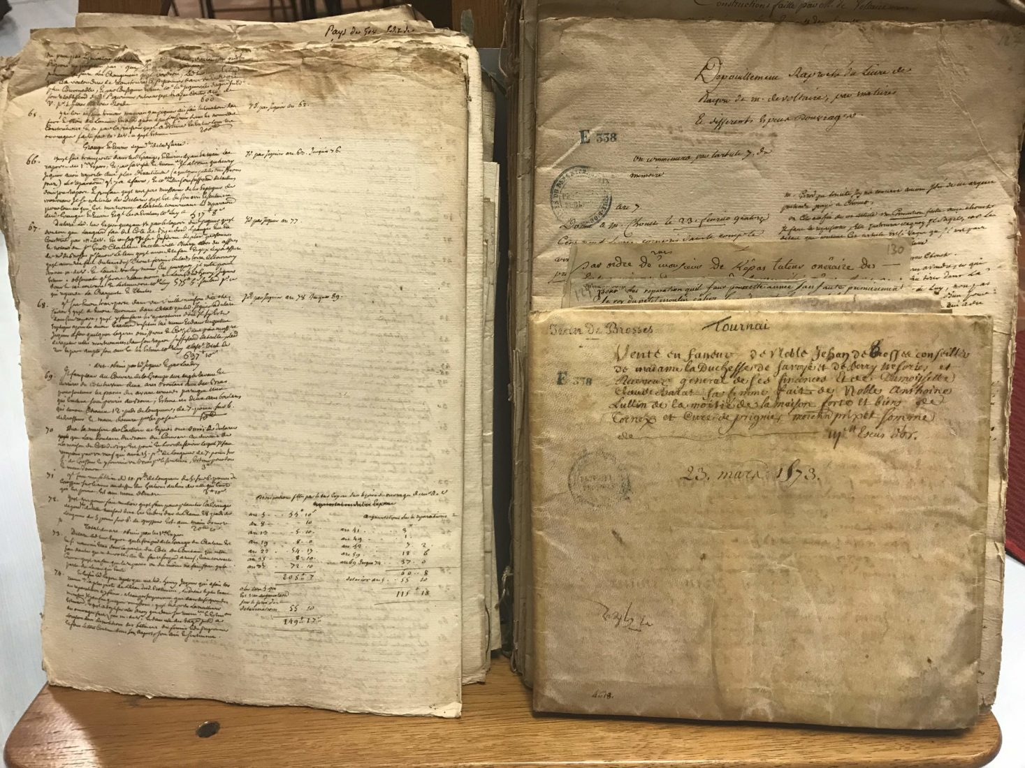Archives départementales Côte-d'Or parchemins