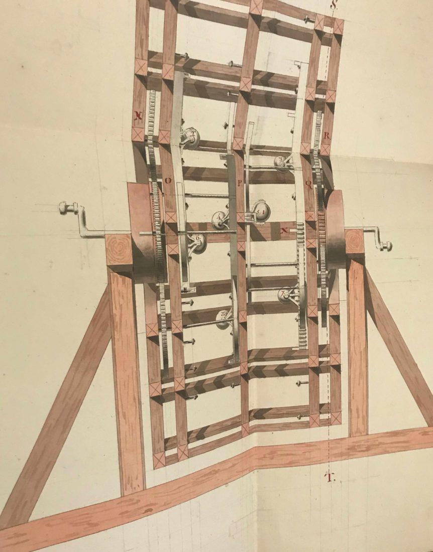 Archives municipales de Dijon Léonard Racle plan