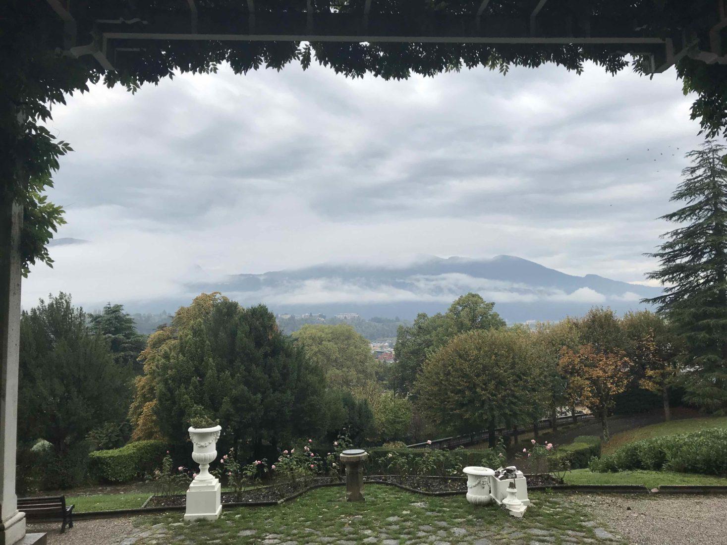 vue sur Aix-les-Bains depuis le Splendide